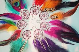 Dream Catcher Feather Meanings Handmade Dream Catcher Feather Earring Extra Long 100100 inches You 59