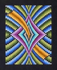 31 best Bargello images on Pinterest | Bargello quilt patterns ... & Mystique Bargello Quilt Pattern by Lockwood Enterprises at KayeWood.com Adamdwight.com