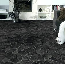 slate floor broken black vinyl bathroom flooring tile look 2