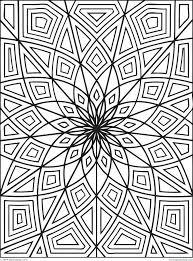 Printable Mandala Abstract Colouring Pages For Meditation Printable