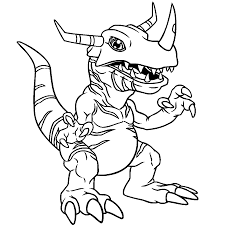 Small Picture Digimon Coloring Pages Coloring Free Coloring Pages