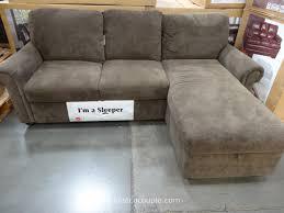 Exellent Sofa Bed With Chaise Pulaski Newton Costco 5 In Creativity Ideas