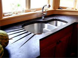 image of concrete countertops pros and cons kitchen