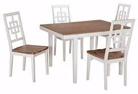 ashley furniture signature design brovada rectangular 5 piece dining room set includes table