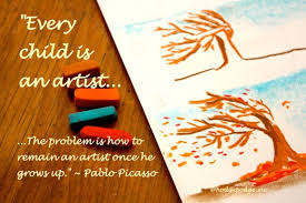 artist quote of Picasso