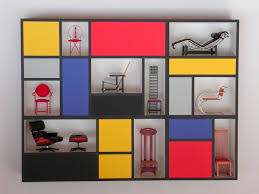 Mondrian Madness: In Furniture, Shoes, Home Decor & More. - if it's