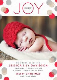 Christmas Card Birth Announcement Combined All Things Baby