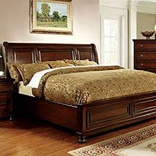 cal king size bed frame. Brilliant Size 247SHOPATHOME IDF7682CK BedFrames California King Cherry For Cal King Size Bed Frame H