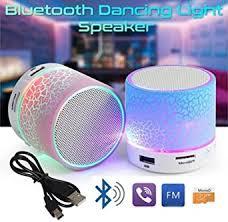 <b>LED Portable Mini</b> Speakers <b>Wireless</b> Hands Free Speaker With TF ...