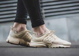 the nike air presto has used a variety of materials this year such as mesh flyknit woven and of course the original neoprene construction