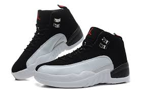 jordan shoes for girls black and blue. womens air jordan 12 girls size playoffs black and white for sale- shoes blue l