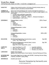 Resume Format Google 30 Google Docs Resume Template To Ace Your Next Interview