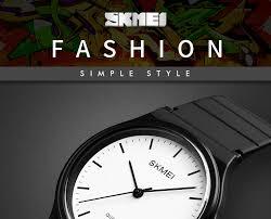 <b>SKMEI Men Women Watches</b> Simple Design Personality Teens 3bar ...