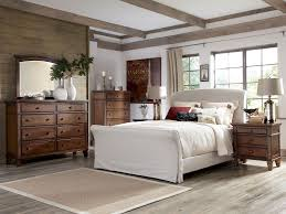 Cozy Rustic White Bedroom Furniture Western Style Living Room Furniture
