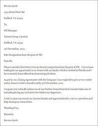 Formal Letter Format To Hr | Soa World