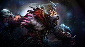 dota2 ursa cryogenic embrace set amazing artwork i love this