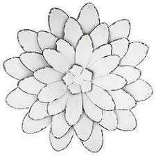 flower on white metal flower wall art with metal flower wall art floral metal pinterest metal flower wall