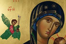 perpetual help hand painted icon
