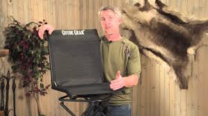guide gear 360 degree swivel hunting blind chair