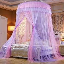 US $31.34 5% OFF|Colorful Mosquito Net Princess Insect Net Single door Hung Dome Bed Canopies Netting Round Mosquito Net Commonly Used-in Mosquito Net ...