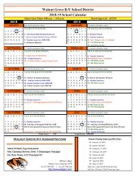 How To Make A School Calendar 2018 19 School Calendar