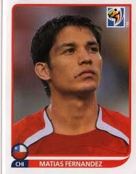 CHILE - Matias Fernandez #632 PANINI South Africa 2010 FIFA World Cup Sticker - chile-matias-fernandez-632-panini-south-africa-2010-fifa-world-cup-sticker-41633-p