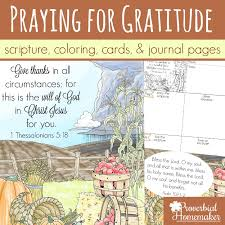 Praying For Gratitude Scripture Printables And Coloring Pages