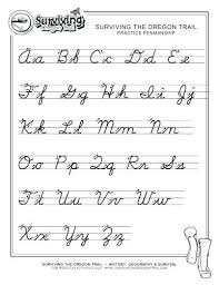 Cursive Alphabets Worksheets Morningknits Com