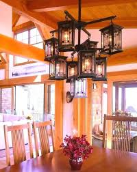 craftsman style chandelier mission style lighting dining room craftsman style chandeliers craftsman style foyer lighting