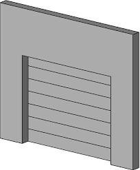 revitcity com object overhead sectional door