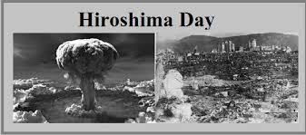 Image result for August 6, 1945, the U.S. drops an atomic bomb on the Japanese city Hiroshima