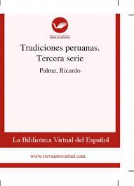 libro tradiciones peruanas tercera