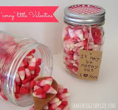 Lovely and simple Valentine gift in a jar. You can make it, too!