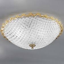 claudia murano glass ceiling light