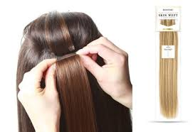 bohyme tape integrated skin weft the