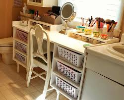 white plastic divider for makeup drawer organizer