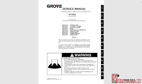 Grove Crane Workshop Manual Complete Pdf Perdieselsolutions