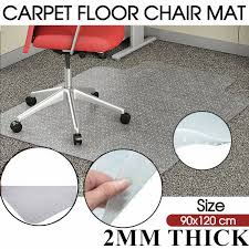 dels about top grade rug carpet floor office puter work chair mat vinyl pvc 1200x900mm