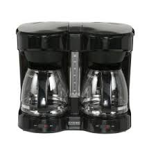 Internet #206986727. +2. Kitchen Selectives Dual Carafe Coffee Maker