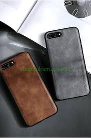 Ốp lưng da iPhone 7 Plus, 8 Plus Hiệu X-Level chính hãng cao cấp