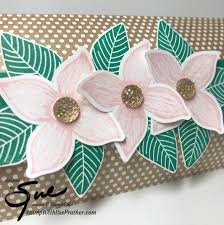 4 Petal Flower Paper Punch Stampin Up Pop Of Petals Projects For Simply Stampin Sunday