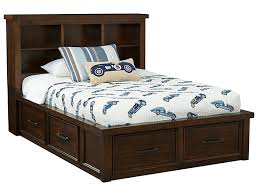 Sonoma Full Book Bed with Storage