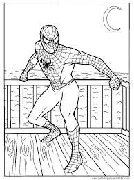 Small Picture Printable Coloring Pages Of Spiderman Coloring Pages