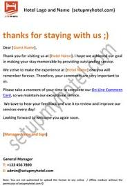 Hotel Booking Confirmation Letter Sample Sample Hotel Guest