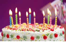 Happy Birthday Cake With Candles Amazing Happy Birthday Cake