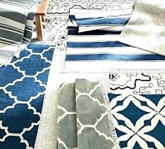 outdoor rugs made from recycled plastic bottles rug mat new on exterior charming navy stripe yarn