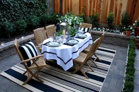 outdoor rugs target patio traditional with black and white brick