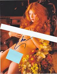 Amazon Com Elvira Mistress Of The Dark Aka Cassandra Peterson Nude Autograph On 8 X 10 Glossy Photo Paper Posters Prints