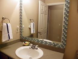 bathroom mirror frame tile. Beautiful Tile Stylish Bathroom Mirror Glass Best 25 Tile Around Ideas On Pinterest  Tropical And Frame L