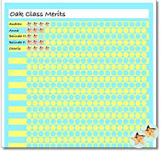 A3 Classroom Reward Chart With 720 10mm Gold Star Stickers